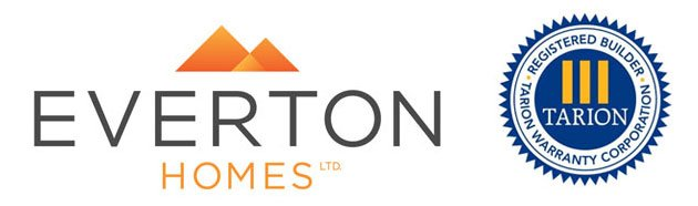 Everton Homes and TARION Warranty Logo