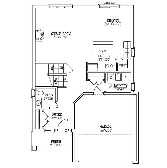 The Avenue - Main Floor - 966 Sq. Ft.