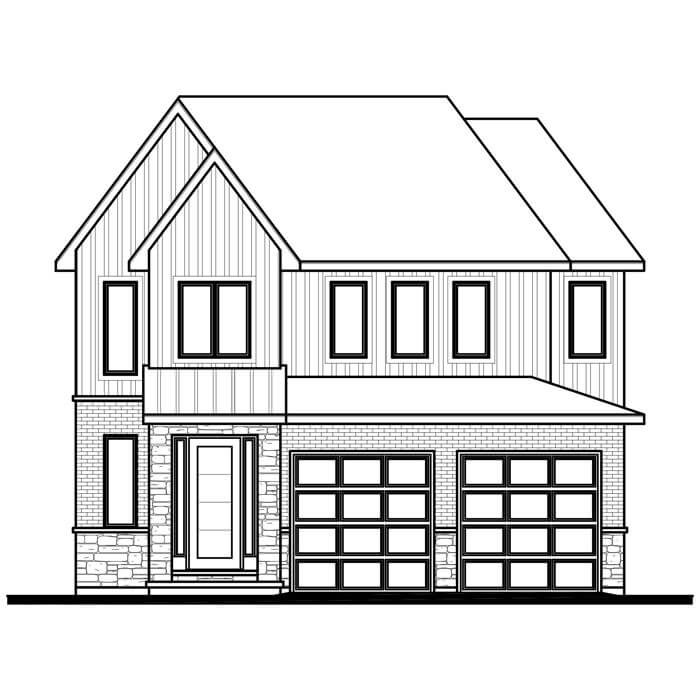 The Brookline - 2201 Sq. Ft. Total