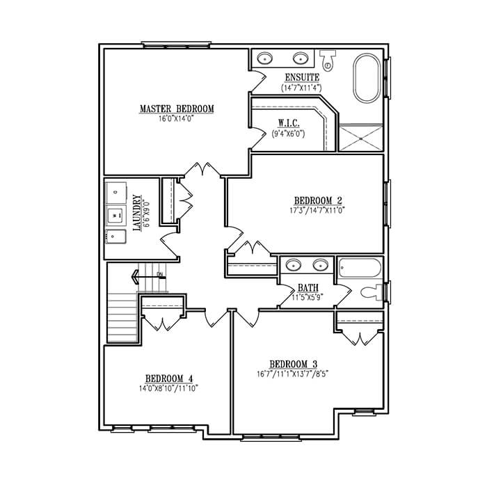 The Turin Modern - Upper Floor - 1373 Sq. Ft.
