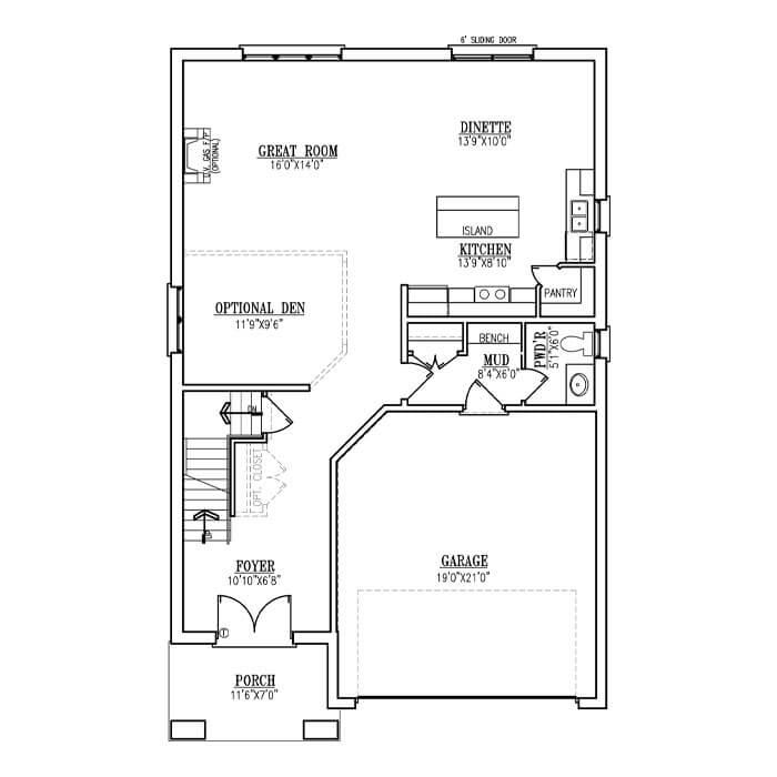 The Gio - Main Floor - 1069 Sq. Ft.