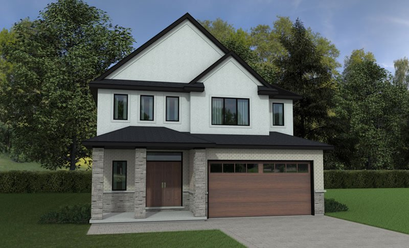 The Turin - 2409 Sq. Ft. Total