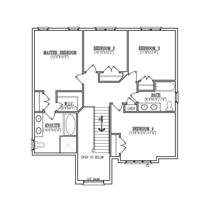 The Grace - Upper Floor - 1,249 Sq. Ft.