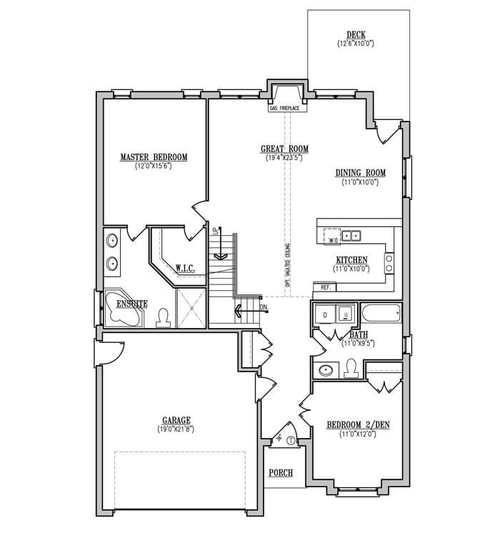 The Laurel - Main Floor - 1,813 Sq. Ft.