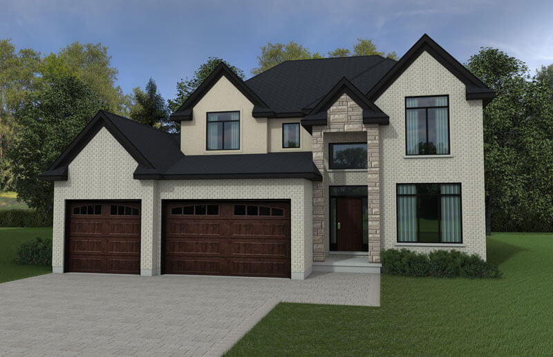 The Woodcrest - 2,700 Sq. Ft. Total